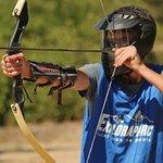 Archery Tag, activité de précision.