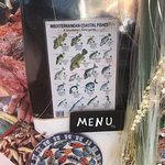 The menu is fantastic but depends on the cooperation of the fish!!!