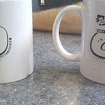 Great bottomless coffee and you can buy the mugs too!