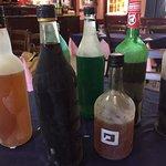 Parte dei liquori di produzione propria