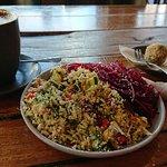 Combo 3 raw food salads
