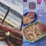 Delicious hand-made burgers 🍔🍟 Λαχταριστά χειροποίητα burgers 🌊