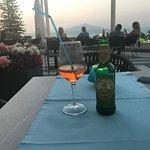 Outside bar terrace