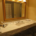 Stunning and large marble sink (and this is real marble)
