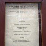 The English Restaurant照片