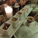 Caffè con selezione di zuccheri
