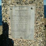 Snapper point memorial plaque