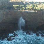 Blowhole at snapper point