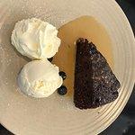 Sticky Date Pudding with Vanilla Bean Ice Cream