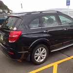 Car parking Opposite on Days Bay Foreshore, Disabled Parking spaces either side of Pedestrian cr