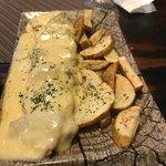 Solomillo del cerdo con queso