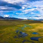 Kara-Bodur valley. Naryn region. Kyrgyzstan