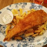 Classic Fish & Chips.