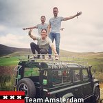 We had a crazy day with this lot from Amsterdam. They were on a mystery vacation and only found out about this tour 1 hour before we set off.
