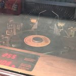 45's on the Juke Box at Daisy's Diner at Cooter's Luray