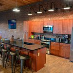 There are  2br and 3 BR loft seasonal rentals above the gallery
