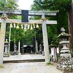 小野神社の鳥居。