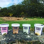 Our delicious ice creams from our local dairy, Yates Farm