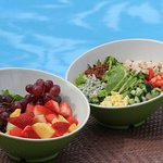 Cobb and a Fruit Salad Available Daily