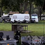 Parking / camping area for vans etc.