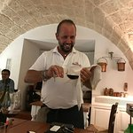 Angelo is the sunshine in restaurant Capatosta.....well done.