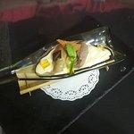 Crema de mascarpone con cafe expresso y amaretto