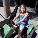 rijden op een echte traktor