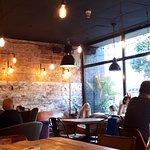 Inside Urban cafe