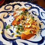 Corn empanadas.