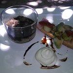 Une entrée originale avec sa crème de wasabi