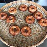 百年檜木甜甜圈照片