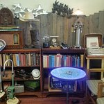 Antique books, unique locally made upcycled art and Mid-Century furnishings and decor... check us out!