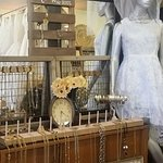 Vintage jewelry, lots of bridal ideas and decor at our shop.
