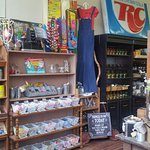 Looking for that vintage country store vibe?  We've got it all including a nostalgic candy section :)