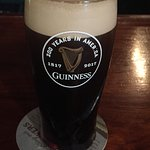 Pint of Guinness with nitro