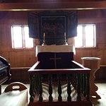 Altar area. Pulpit is behind this section,