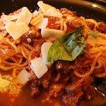 Spaghetti au ragout de sanglier