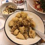 Peppe's Antipasti Amici. Degustatie van diverse Siciliaanse voorgerechtjes