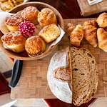 Our chefs bake fresh bread every morning breakfast.