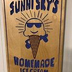 Foto de Sunni Sky's Homemade Ice Cream