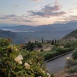 Taverna To Patriko Mas (view from terrace seating)
