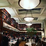The lovely restaurant