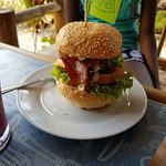 Foto Homemade Burgers and Sandwiches