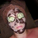 Chocolate face :)