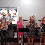 Funk Lockers band performing - brilliant!