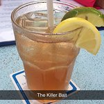 Killer Bait was this night's special drink. Tasty but quickly watered down.
