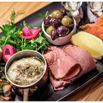 Torquay Tasting Plate, made with local and seasonal produce