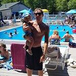 Lake Dunmore Pools.  It's paradise!