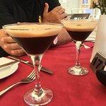 Amazing Espresso Martinis.