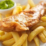 Fish and chips come and enjoy 2 for £10 Every Friday